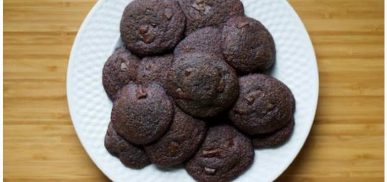 biscoitos de chocolate e menta