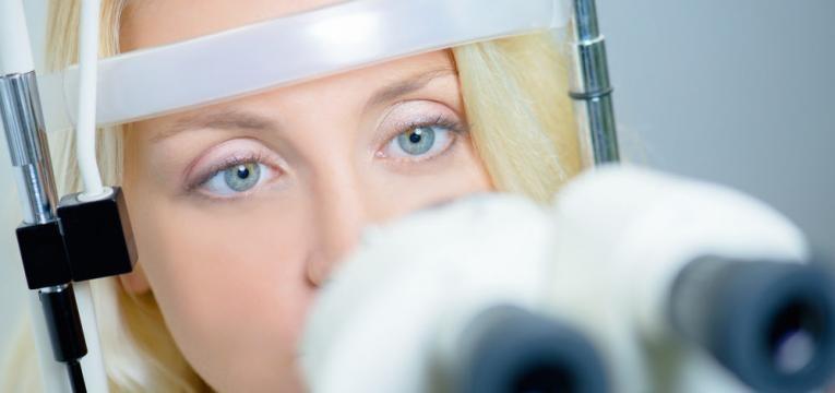 exame oftalmologico