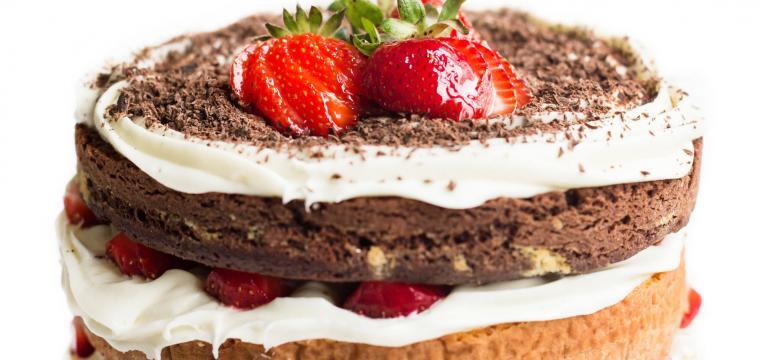 bolo de chocolate e skyr em receitas com skyr