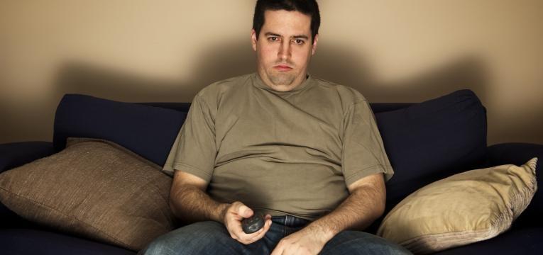 homem sedentario