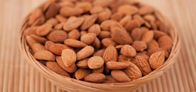 Amendoas torradas sem tempero