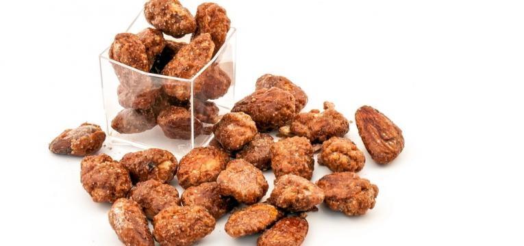 Amendoas caramelizadas tradicionais
