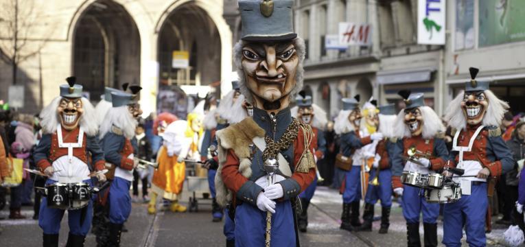 carnaval na suiça