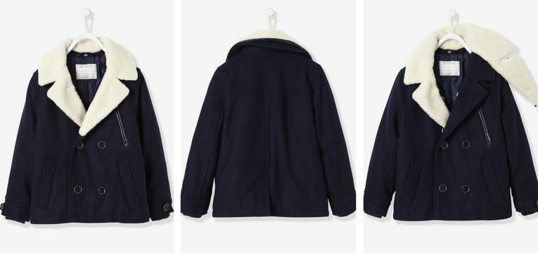 casaco marinho