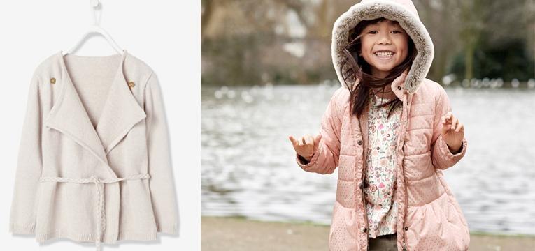 casacos menina vertbaudet