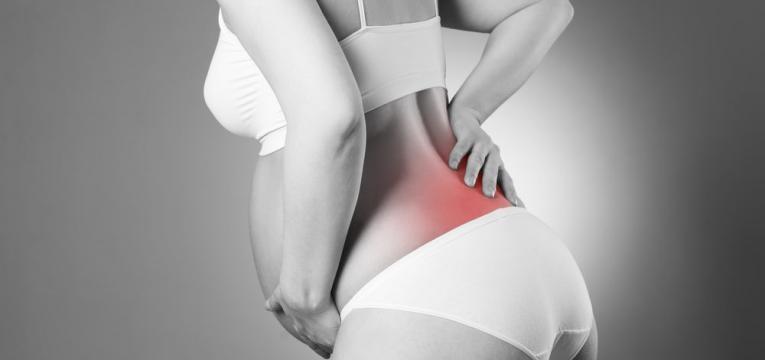 gravida com dor no fundo das costas