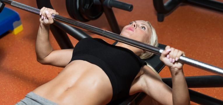 Exercicios negligenciados pelas mulheres e Supino plano