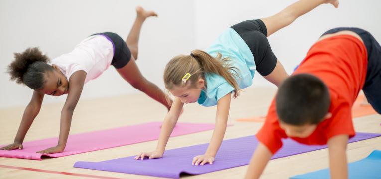 exercício fisico em idade pediátrica na escola