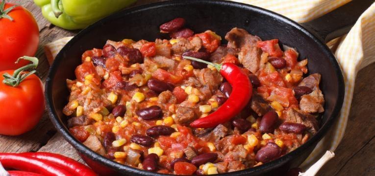 Receita de chilli beans