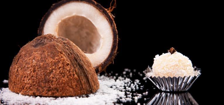 Brigadeiro de coco