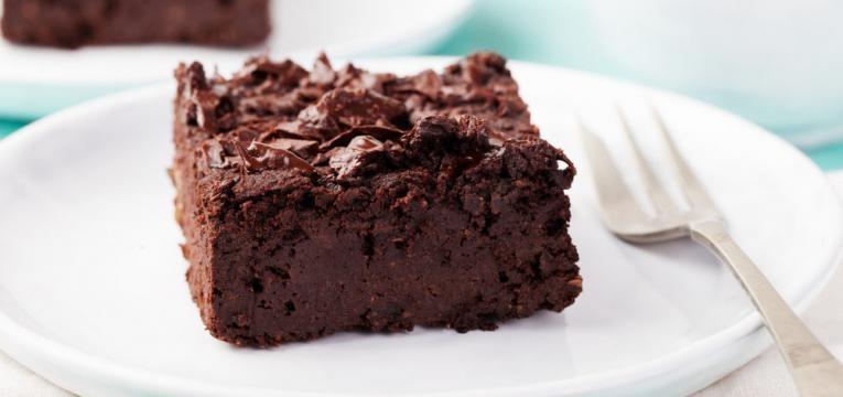 Bolo de chocolate fofinho saudavel