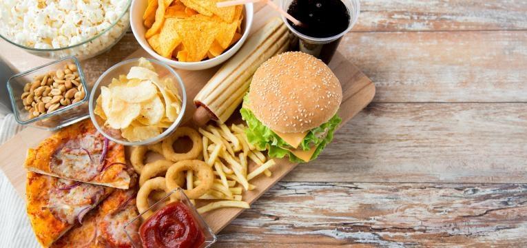 fast-food variado