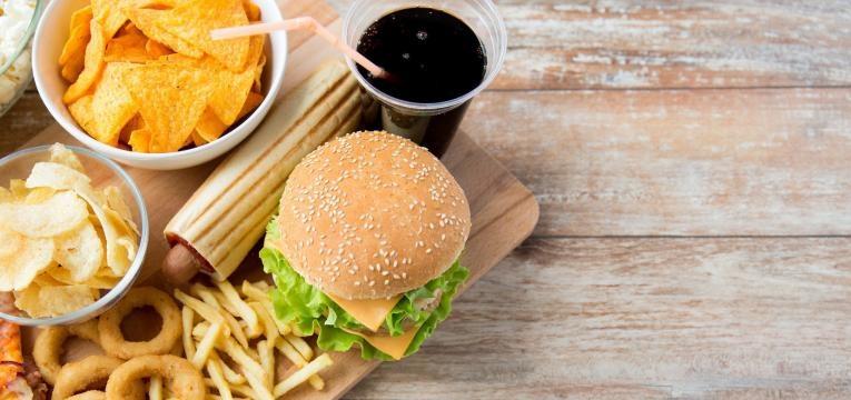 alimentos fast food