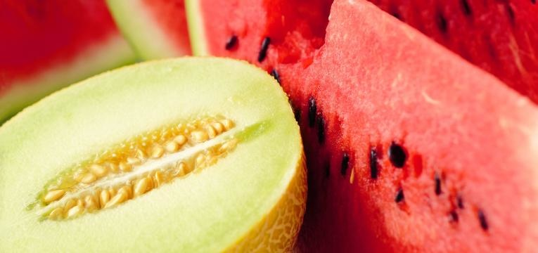 melancia e melao