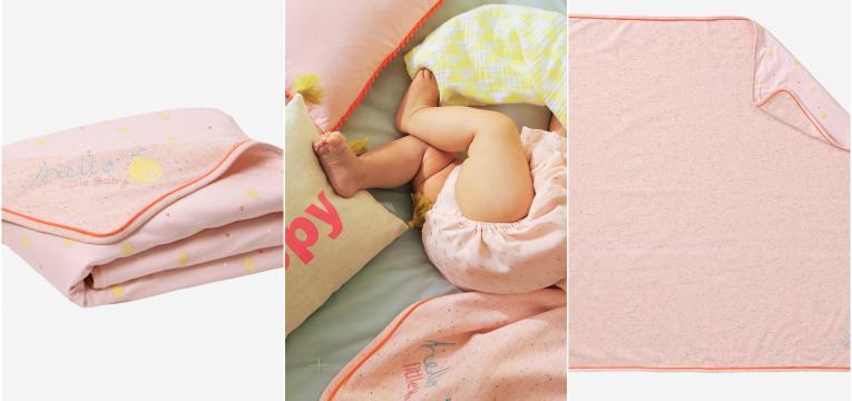 cobertor bimatéria rosa