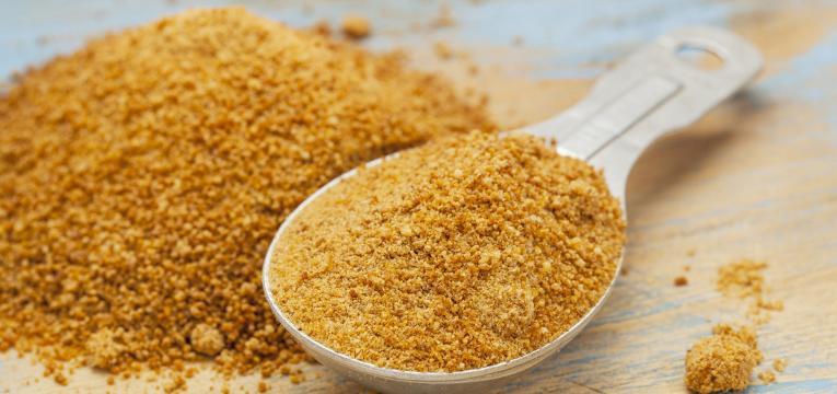 açúcar de coco e xaropes substitutos de açúcar