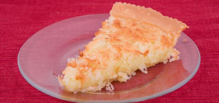 tarte de coco light