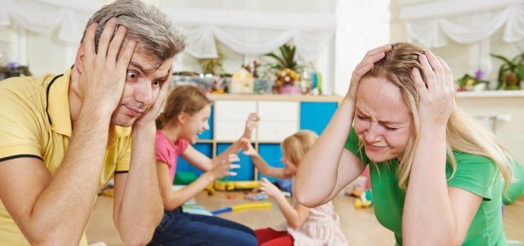 controlar os filhos e pais sem paciencia