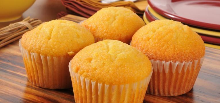 Muffins de banana simples