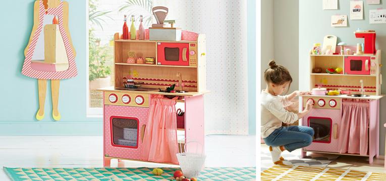 cozinhas para menina vertbaudet