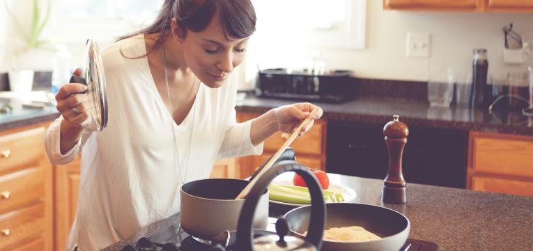 cozinhar e como voltar ao peso normal depois da gravidez
