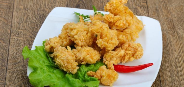 receitas para criancas e nuggets de frango