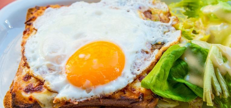 Sanduiche Croque Madame