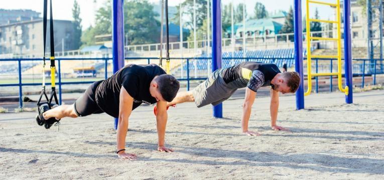 exercicios com trx para abdominais e prancha