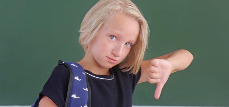 uer ir para a escola e crianca nao qcrianca nao quer estar na escola