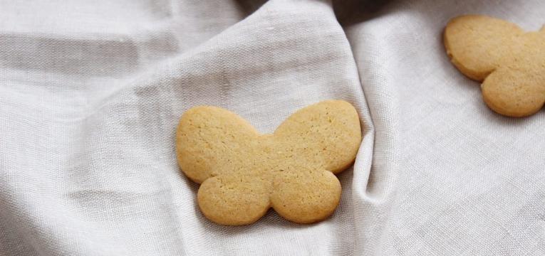 Biscoitos de canela e limao