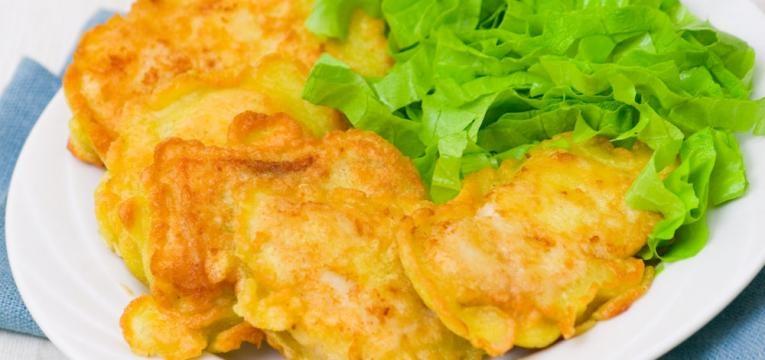 Filetes de pescada low carb