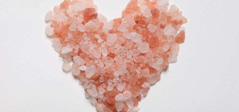 sal com elevado teor de minerais