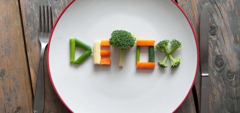 alimentos detox e dieta