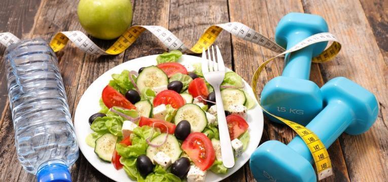 dieta e exercicio fisico