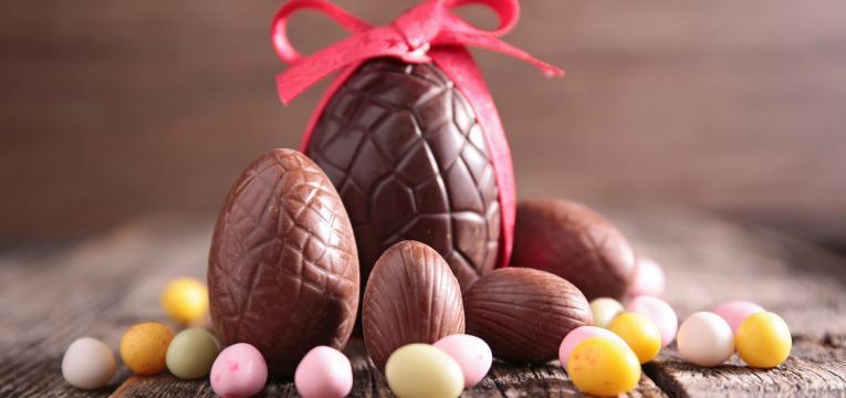 receitas de ovos da pascoa e ovos de chocolate simples