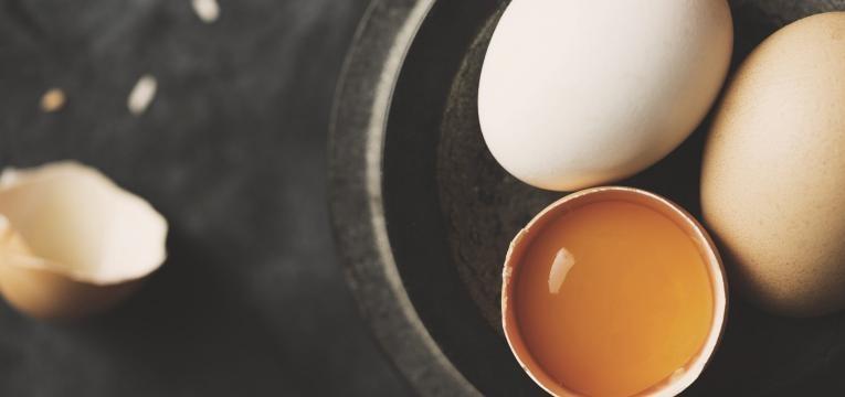 ovo aberto
