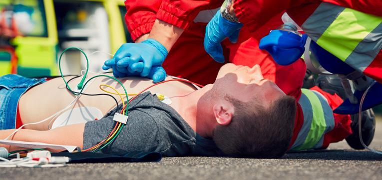 paragem cardiorespiratória