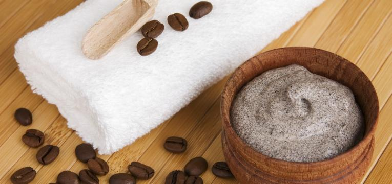 esfoliante de cafe