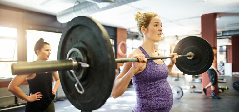 exercicios que nao deve fazer quando esta gravida