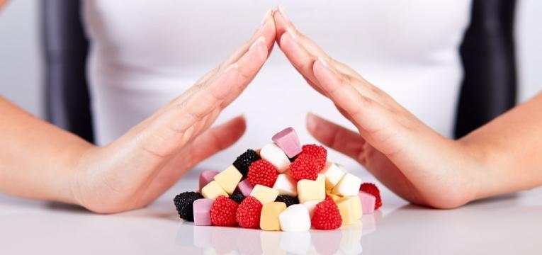 nao aos doces