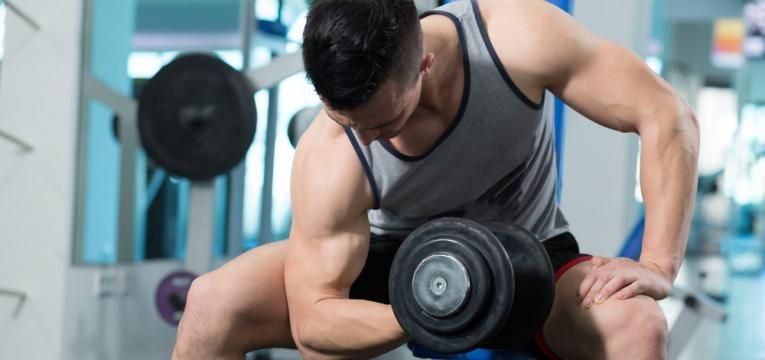 Exercicios para biceps e Bicep curl concentrado