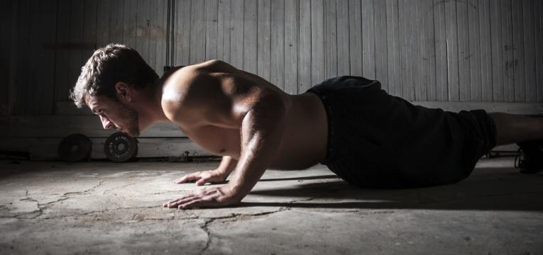 Exercicios para atingir a boa forma e flexoes