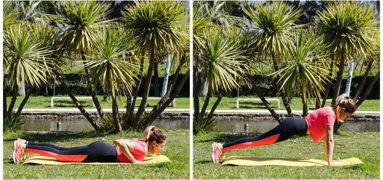 treino intensivo e flexao