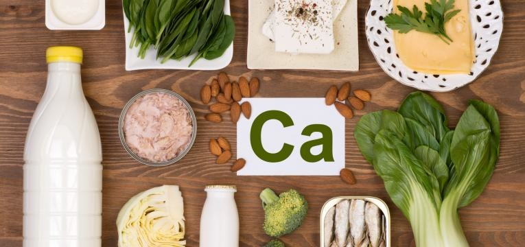 alimentos que aumentam os valores de calcio