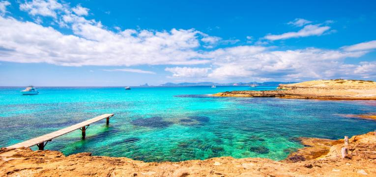 Formentera como destinos de férias