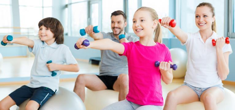 pais e exercício físico em idade pediátrica