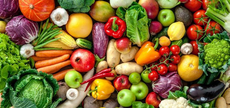 fruta e horticolas e inchaco abdominal