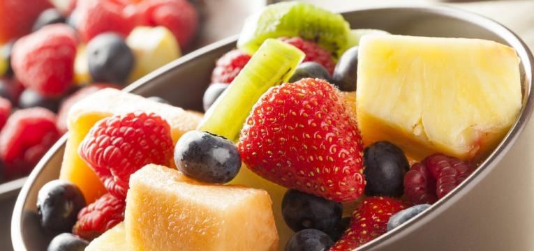 frutas para lanche