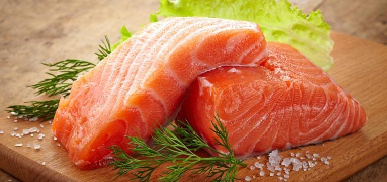peixe gordo cru