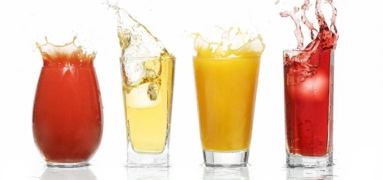 consumo de sumos e refrigerantes